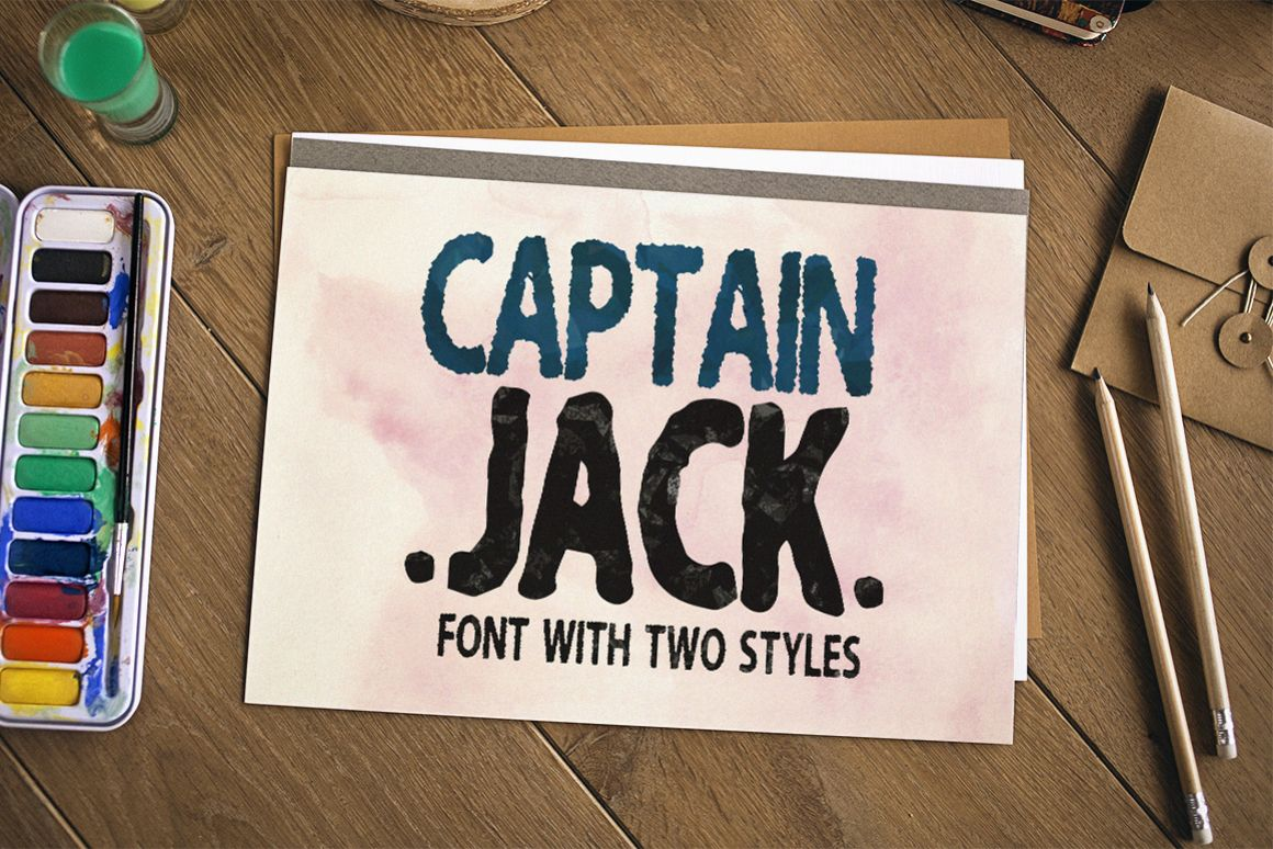 My name is Captain Jack example image 1
