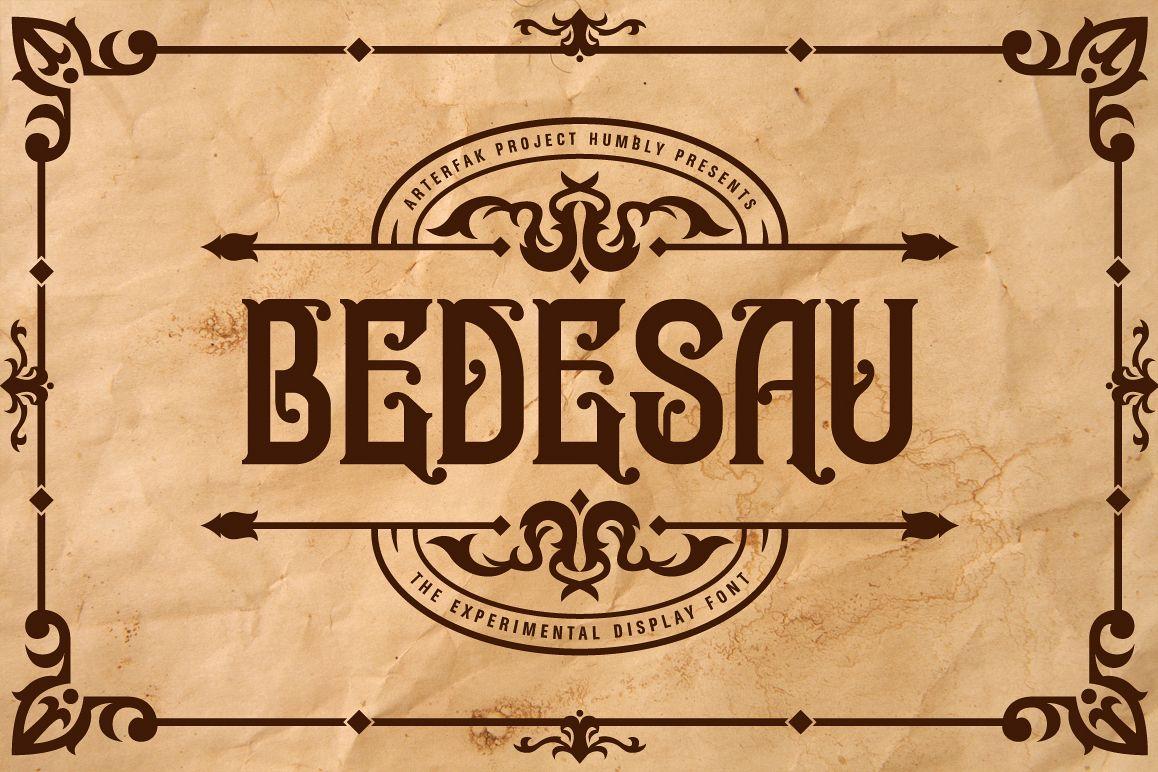Bedesau Typeface example image 1