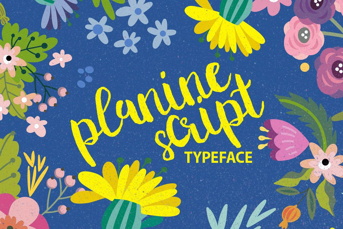 Planine Script example image 1