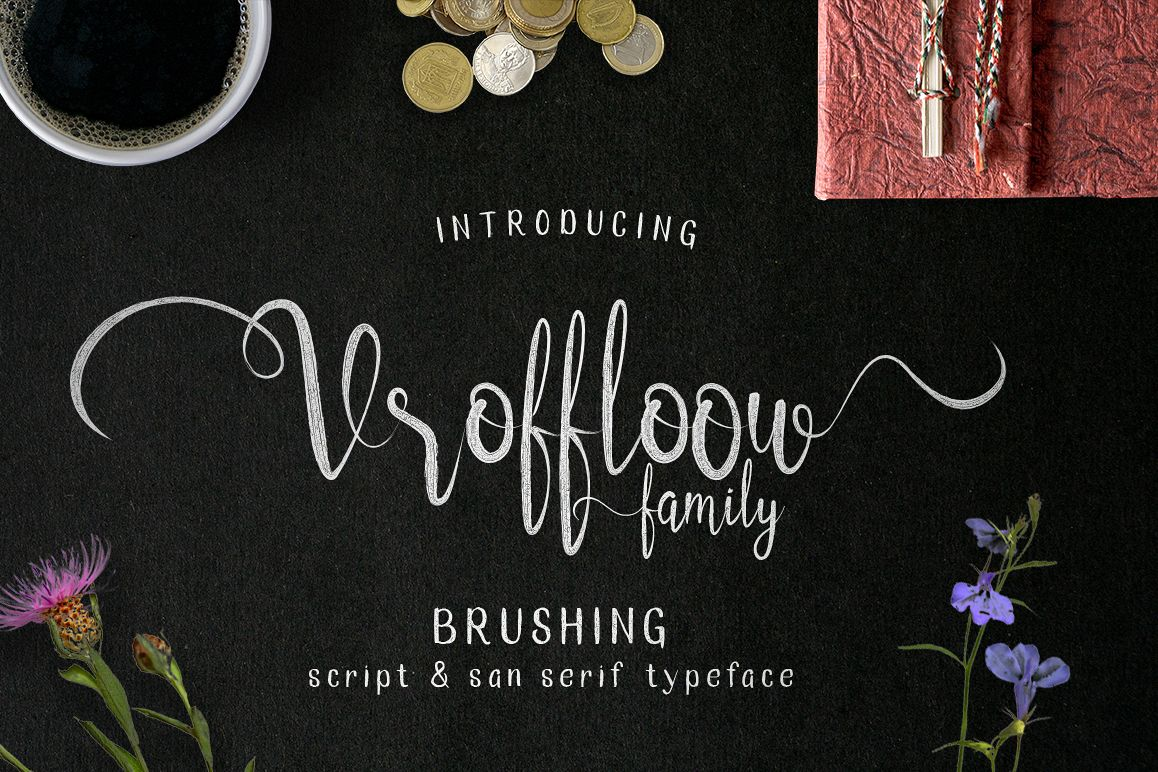 Vroffloow family Typeface example image 1