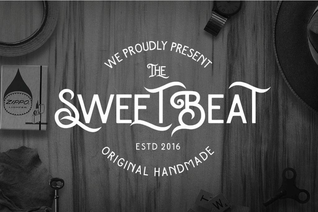 The SweetBeat Typeface example image 1