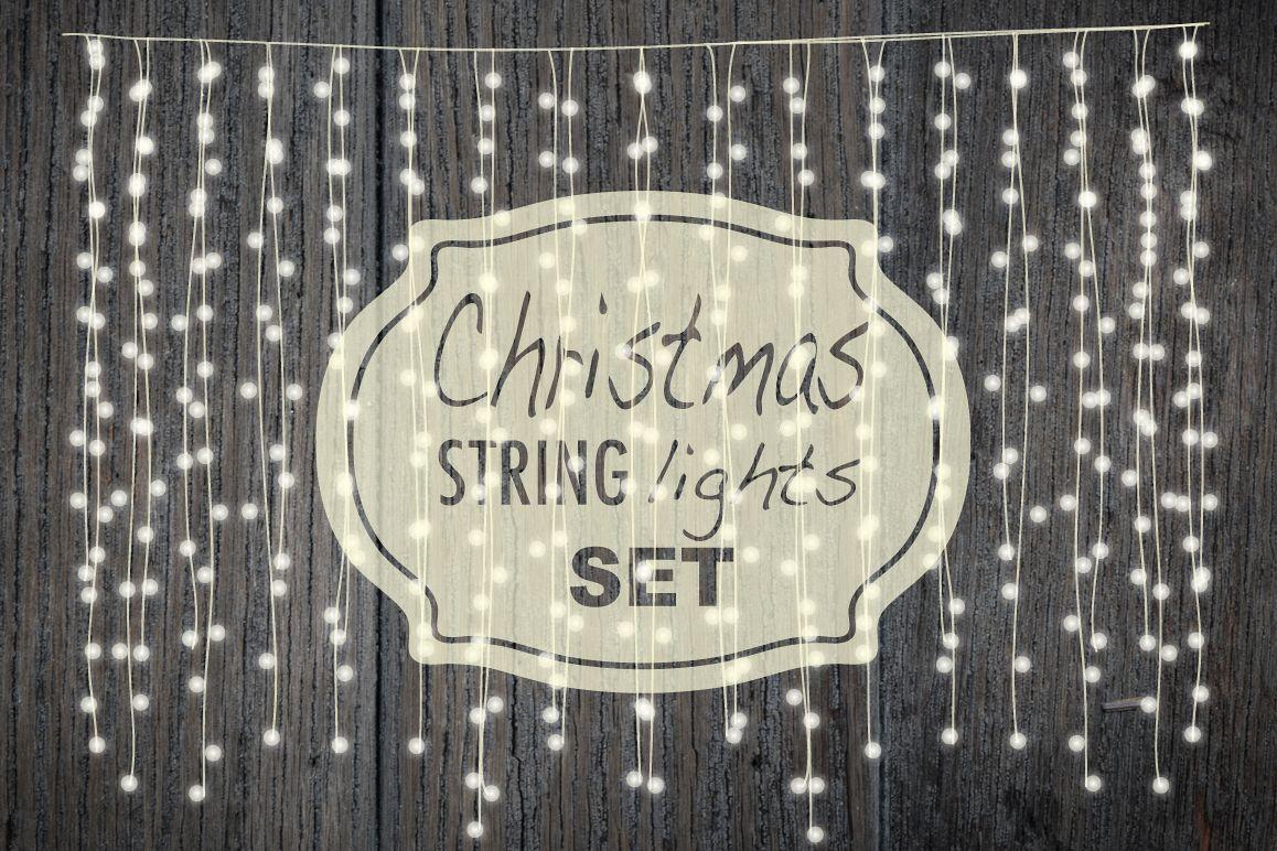 Christmas string lights set example image 1