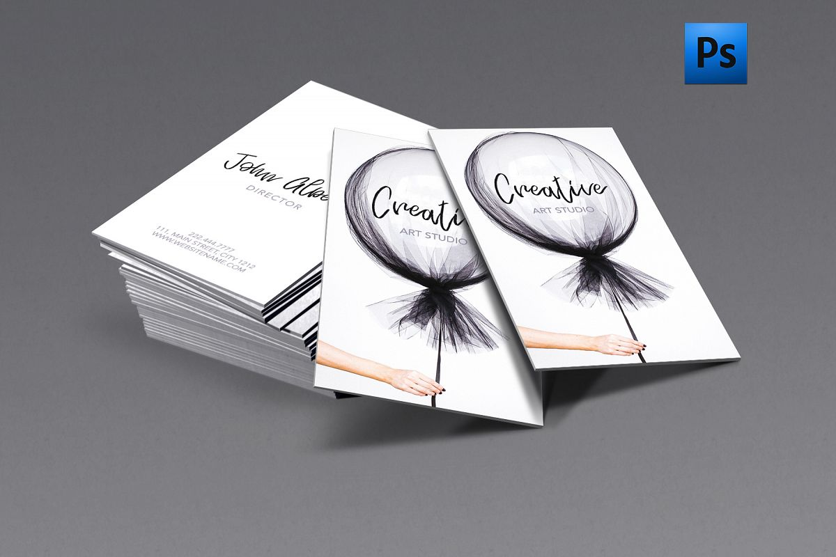 new fashion art creative business card example image 1 - Creative Business Cards
