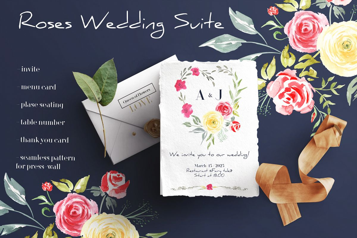Roses Wedding Suite example image 1