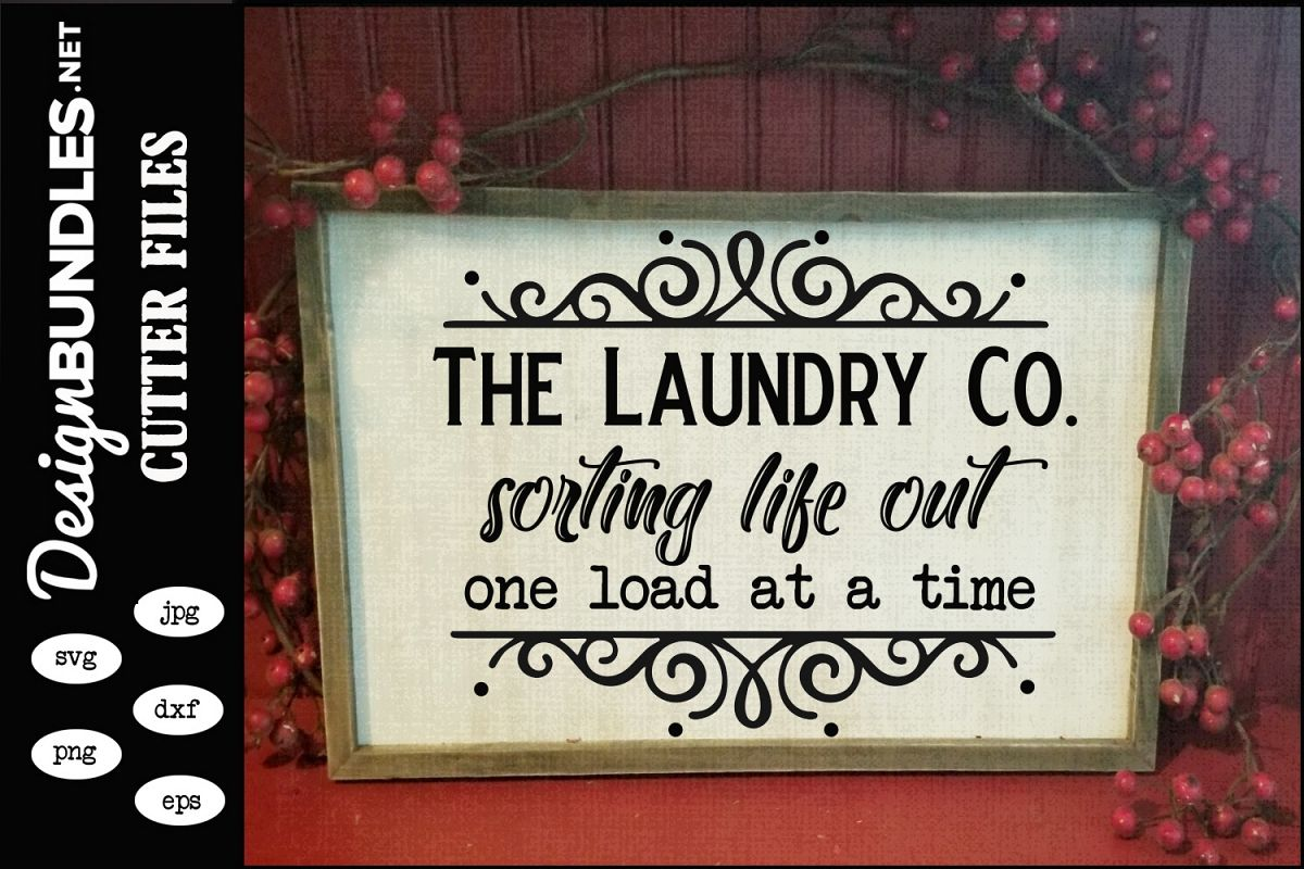 The Laundry Co SVG example image 1