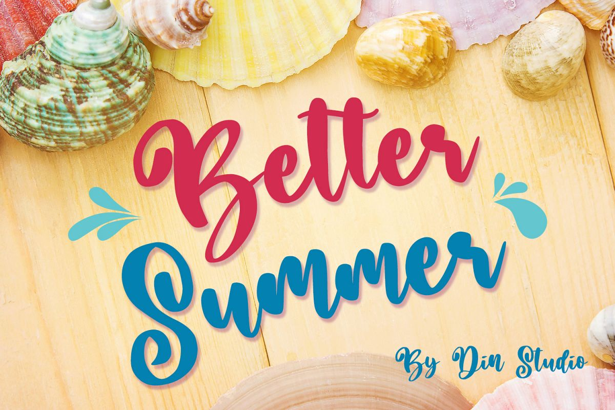 Better Summer Script example image 1