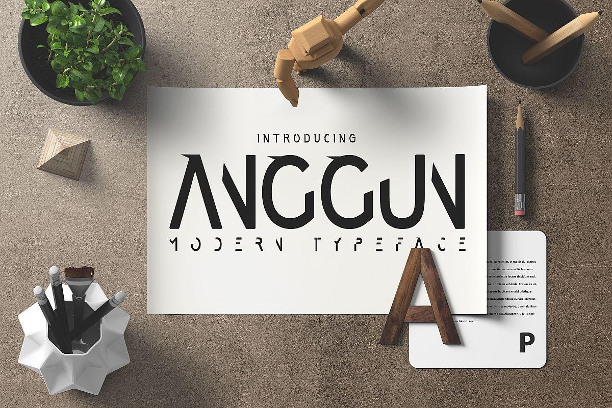 Anggun Font example image 1