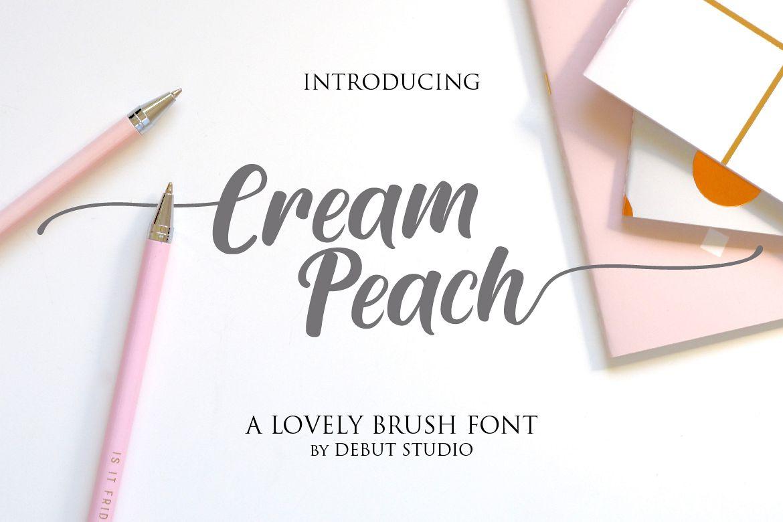 Cream Peach example image 1