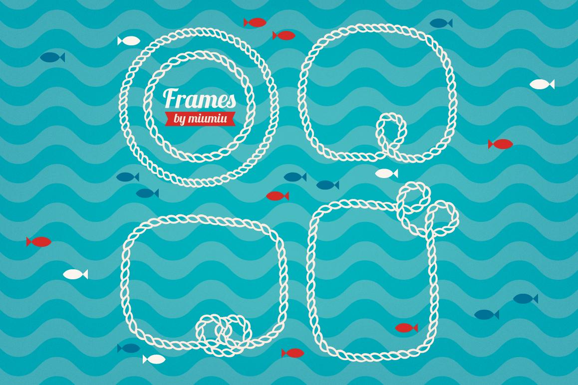 Marine Rope Frames example image 1