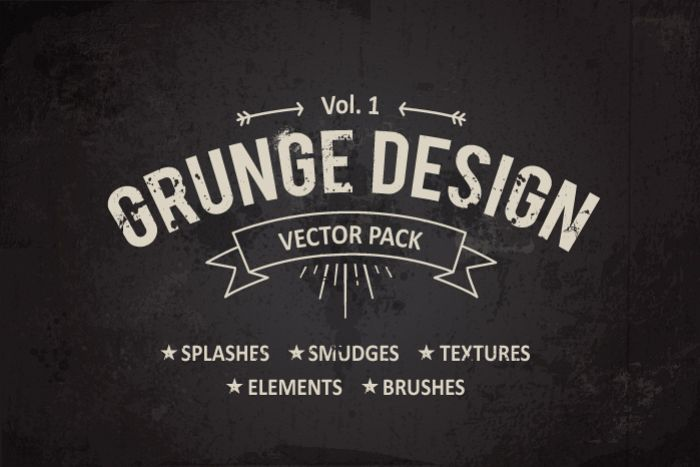 Grunge Design Elements example image 1