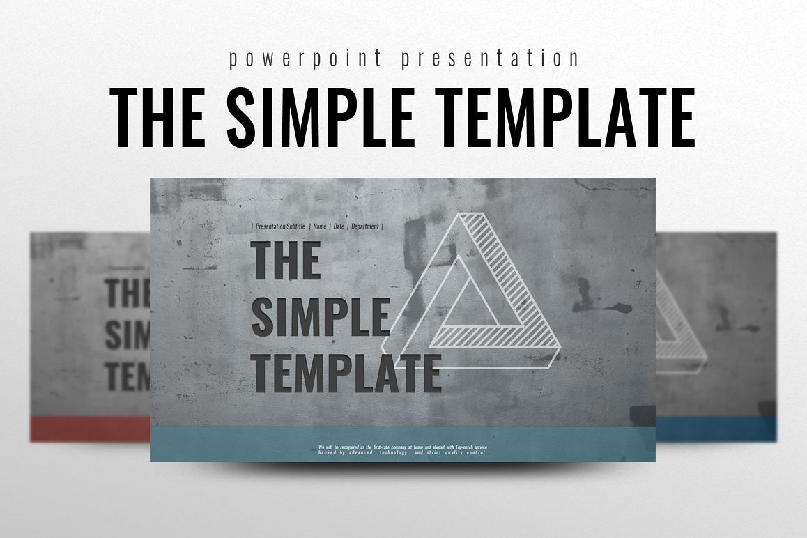 CONCRETE POWERPOINT TEMPLATE example image 1