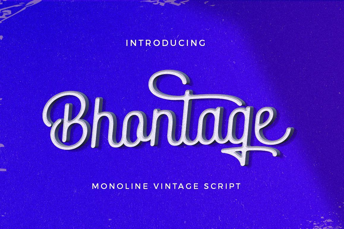 Bhontage example image 1