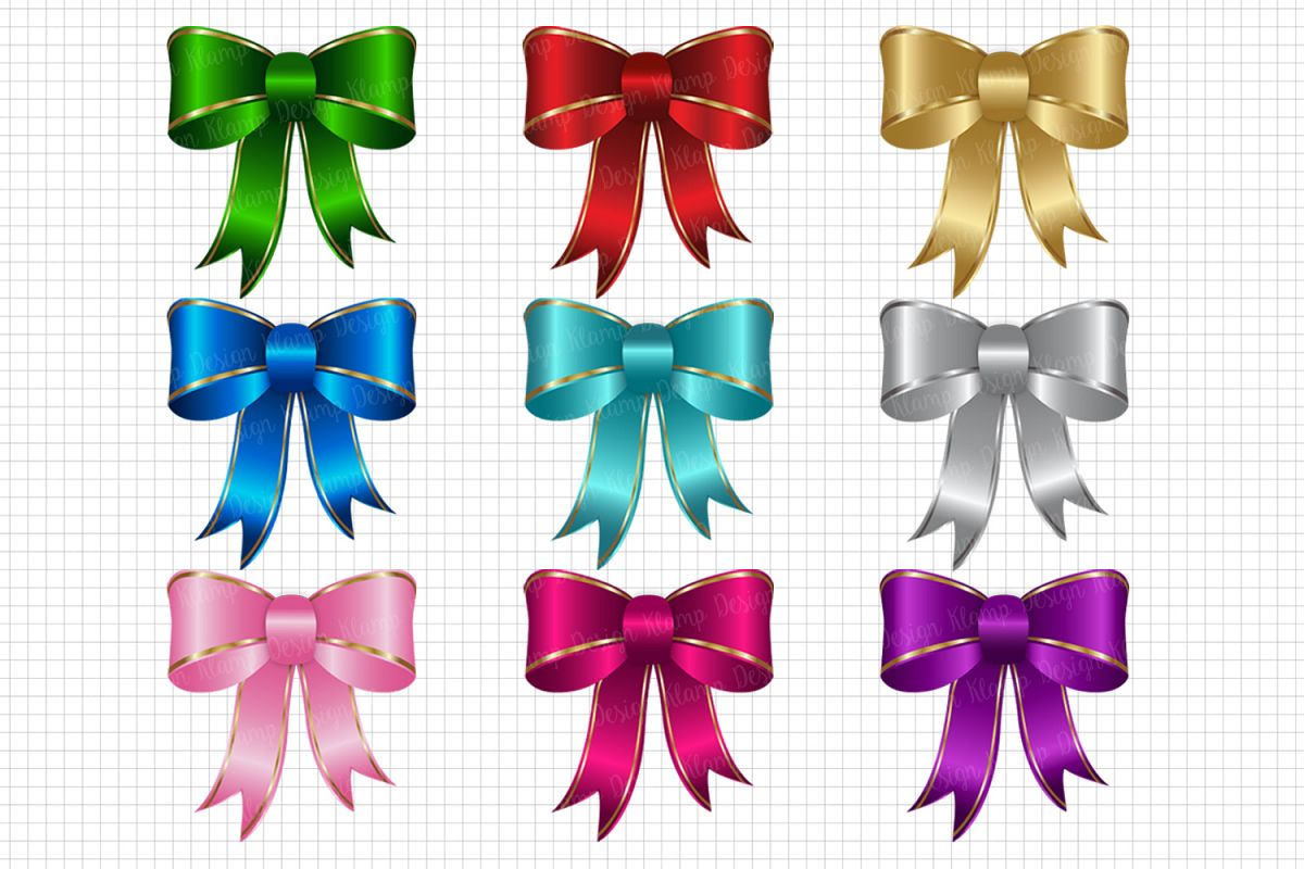Bow Clipart Bow Graphic And Illustrations Christmas Clipart