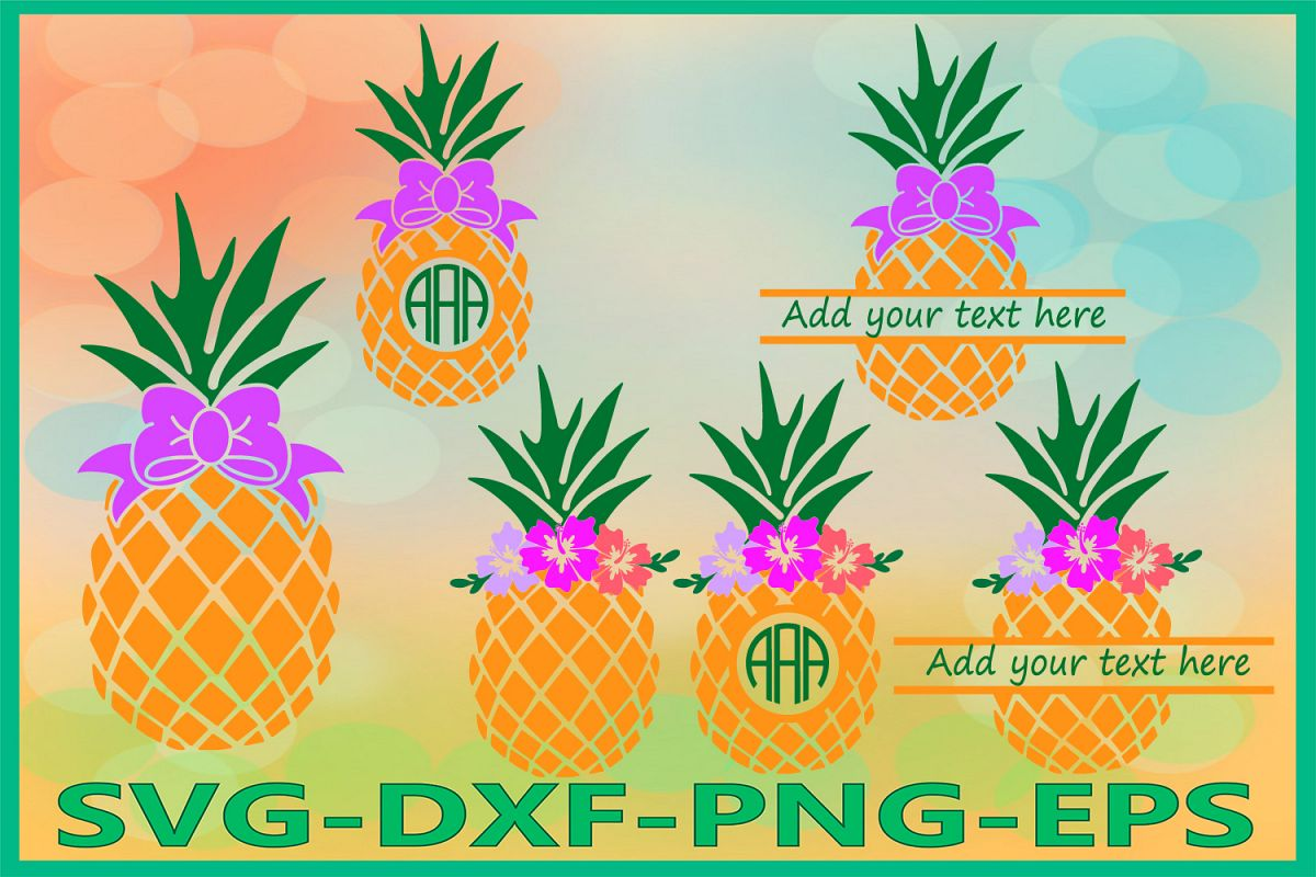 Pineapple Svg, Pineapples Svg, Tropical Svg, Summer svg example image 1