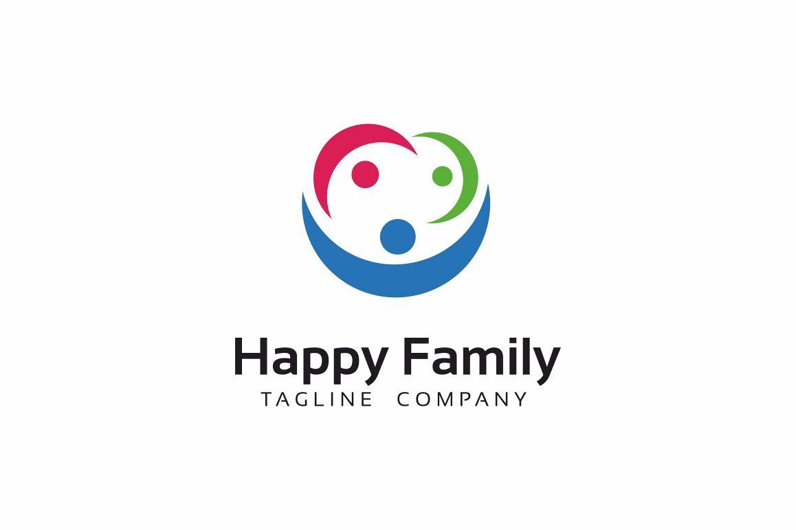 Happy Family Logo example image 1