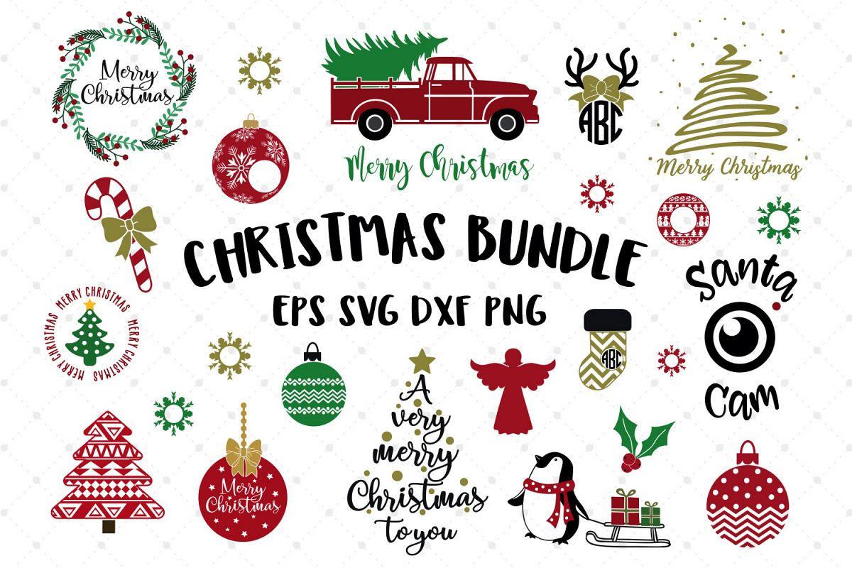 Christmas Bundle SVG Cut Files example image 1