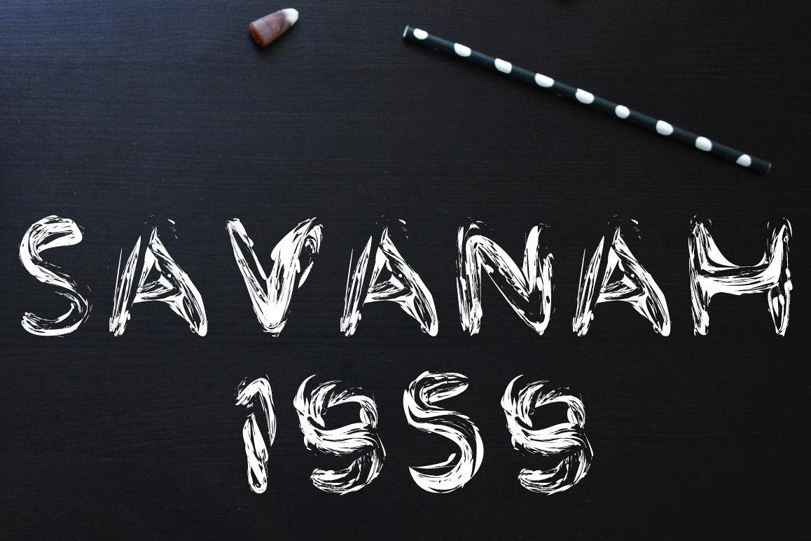 Savanah 1959 Font example image 1