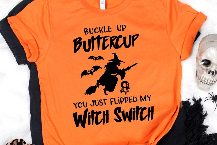 Buckle up Buttercup You just flipped my witch switch witches example image 1