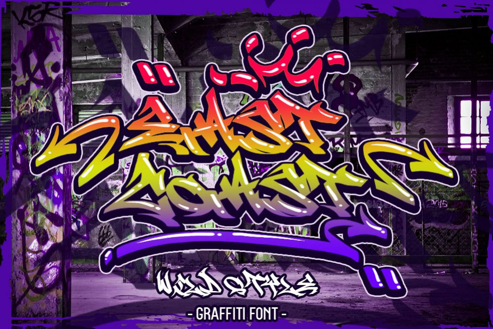 EAST COAST WILD STYLE GRAFFITI example image 1