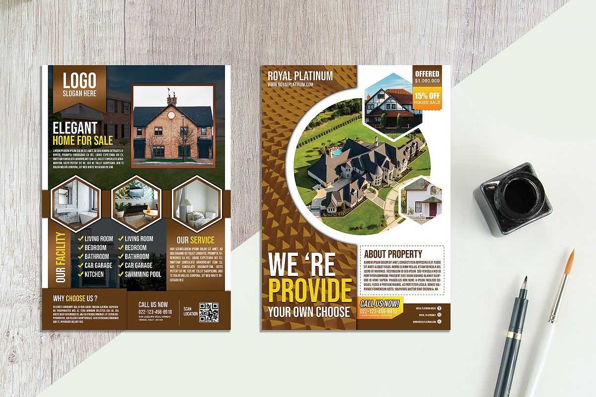 Real Estate Flyer vol.04 example image 1