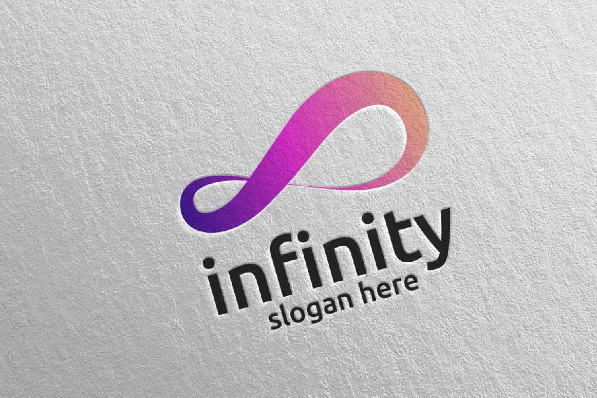 Infinity loop logo Design 28 example image 1