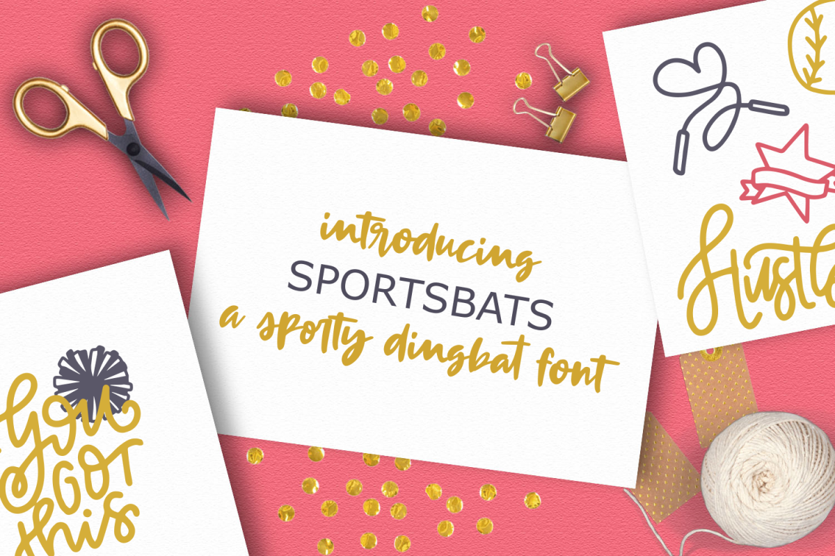 SPORTSBATS - Sporty Dingbats & Catchwords example image 1