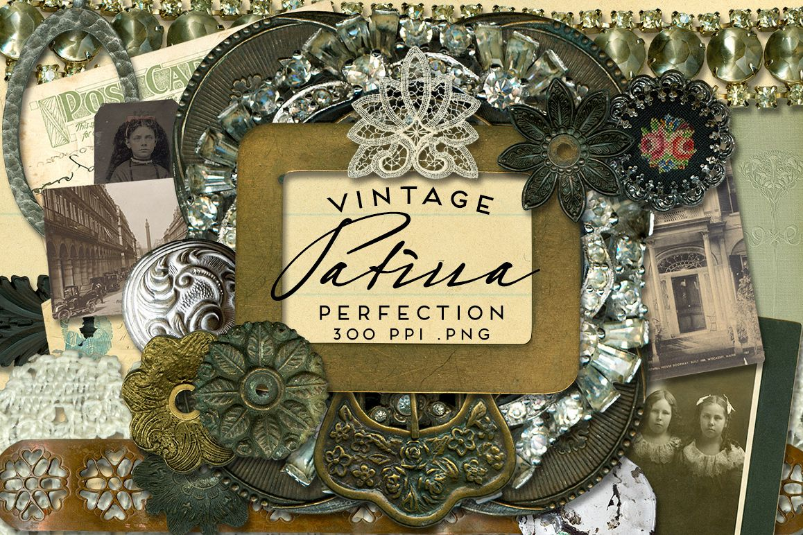 Patina Perfection Vintage Graphics example image 1