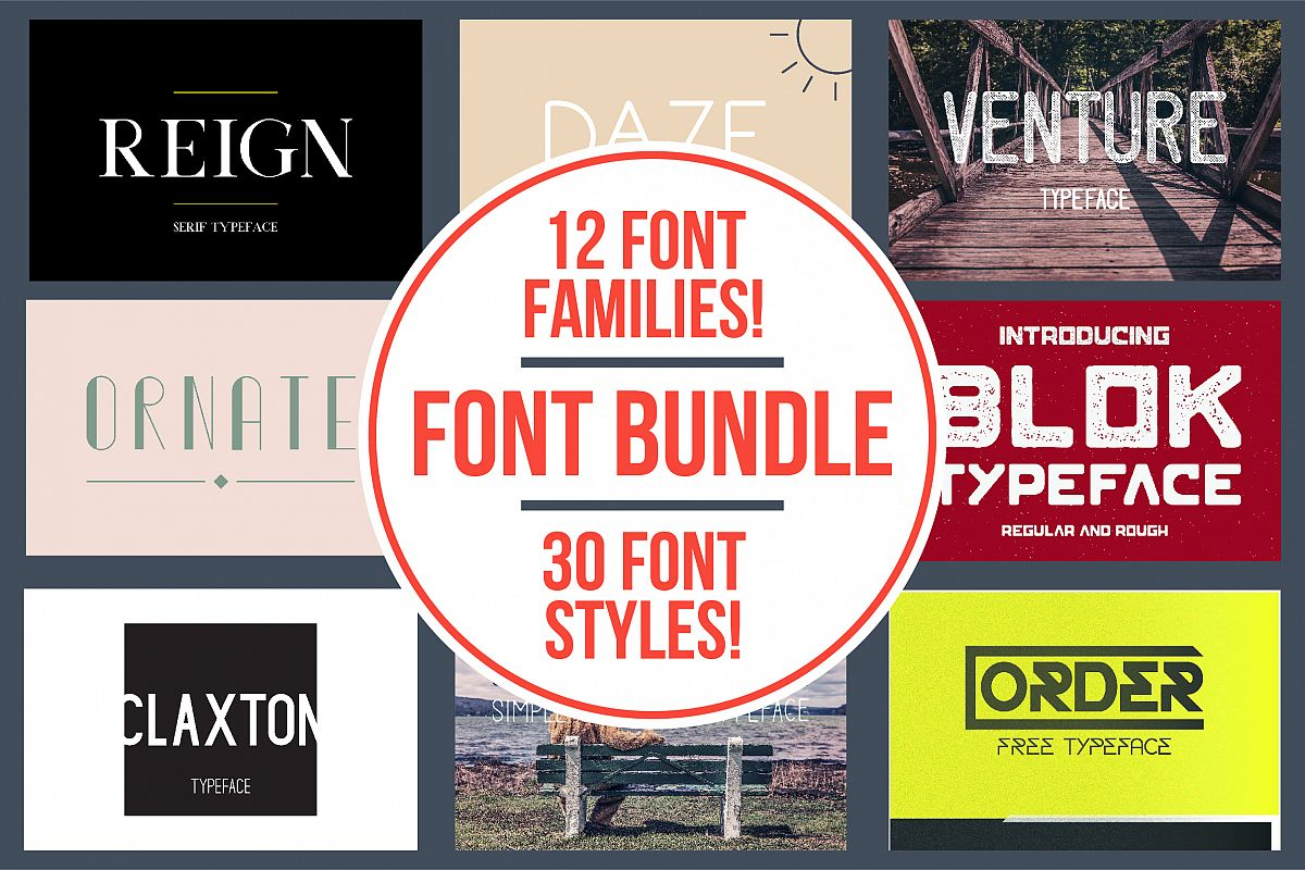 Typeface Bundle example image 1
