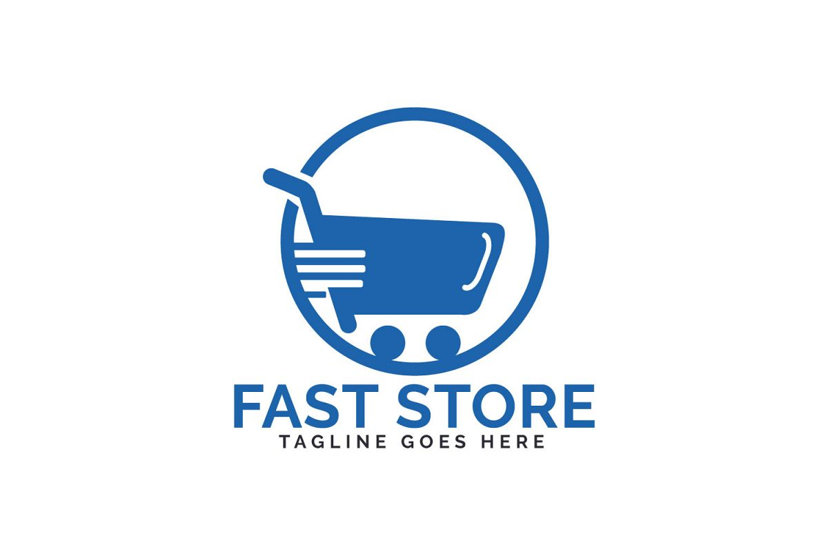 Fast Store Logo Design. example image 1