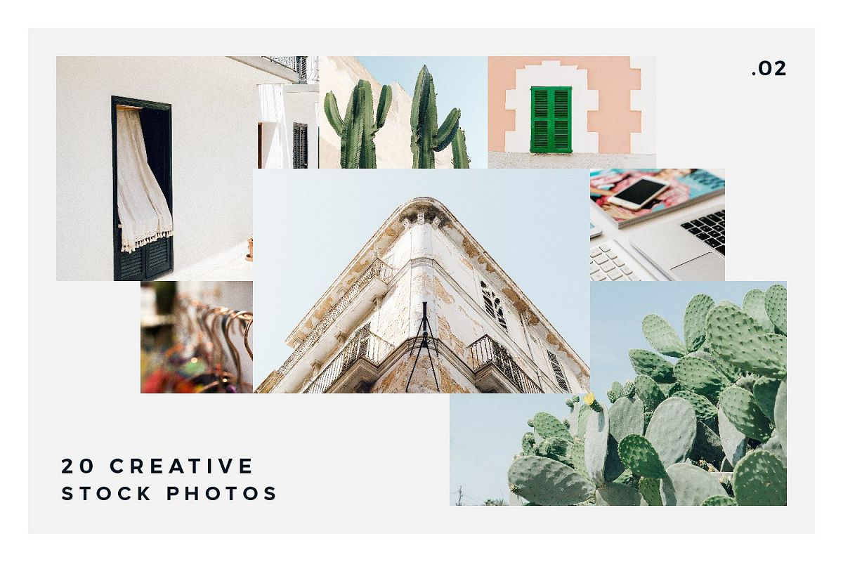 20 Stock Photos Creative Pack vol.2 example image 1