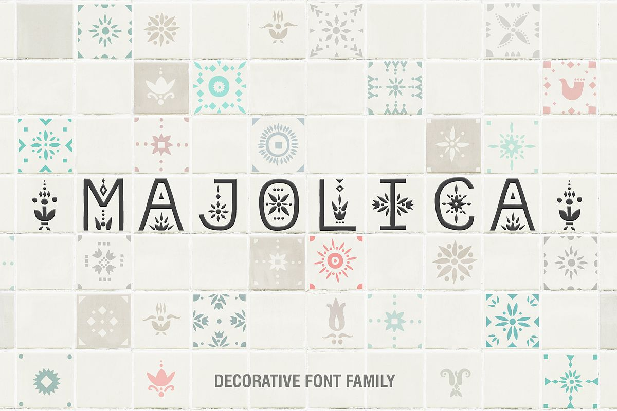 Majolica - Font Family example image 1