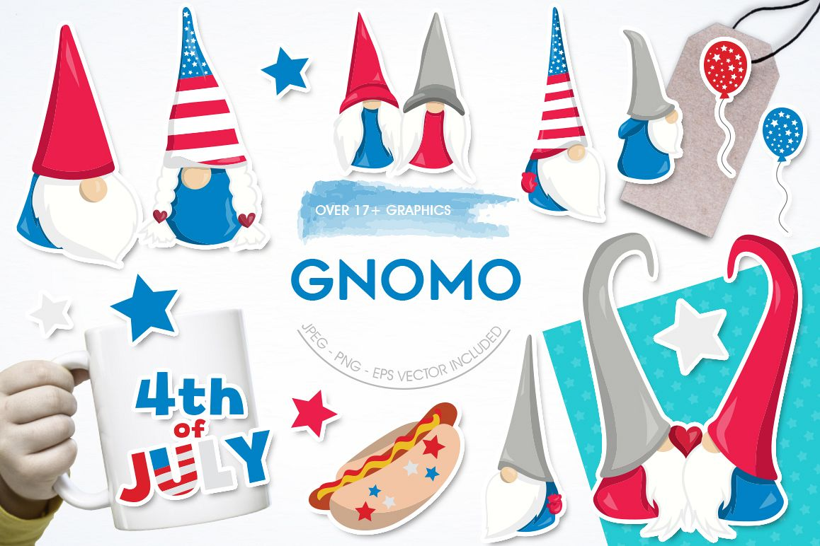 Gnomo graphic and illustrations example image 1