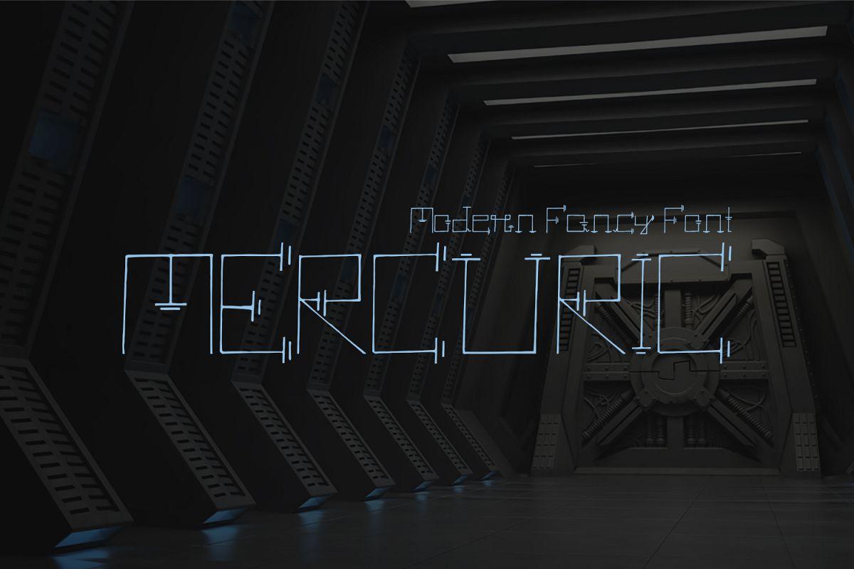 Mercuric Fancy Font example image 1