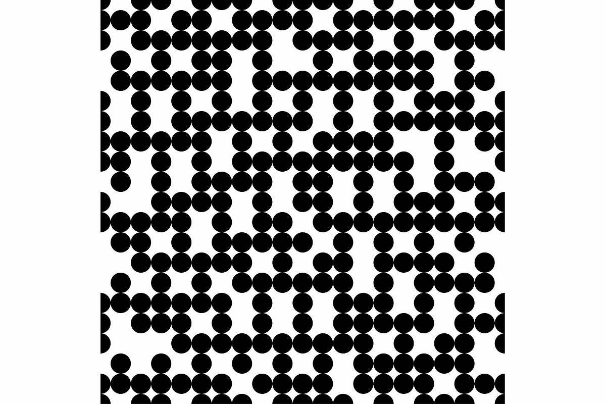 Seamless vector decorative background with polka dots. Print. Cloth design, wallpaper. example image 1