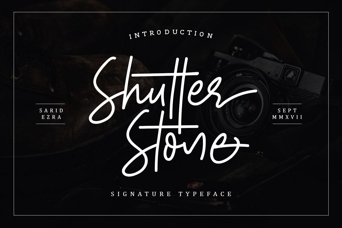 Shutter Stone - Signature Script example image 1