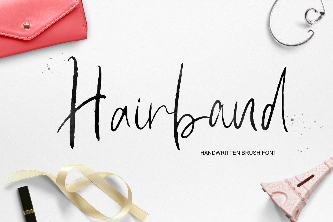 Hairband example image 1
