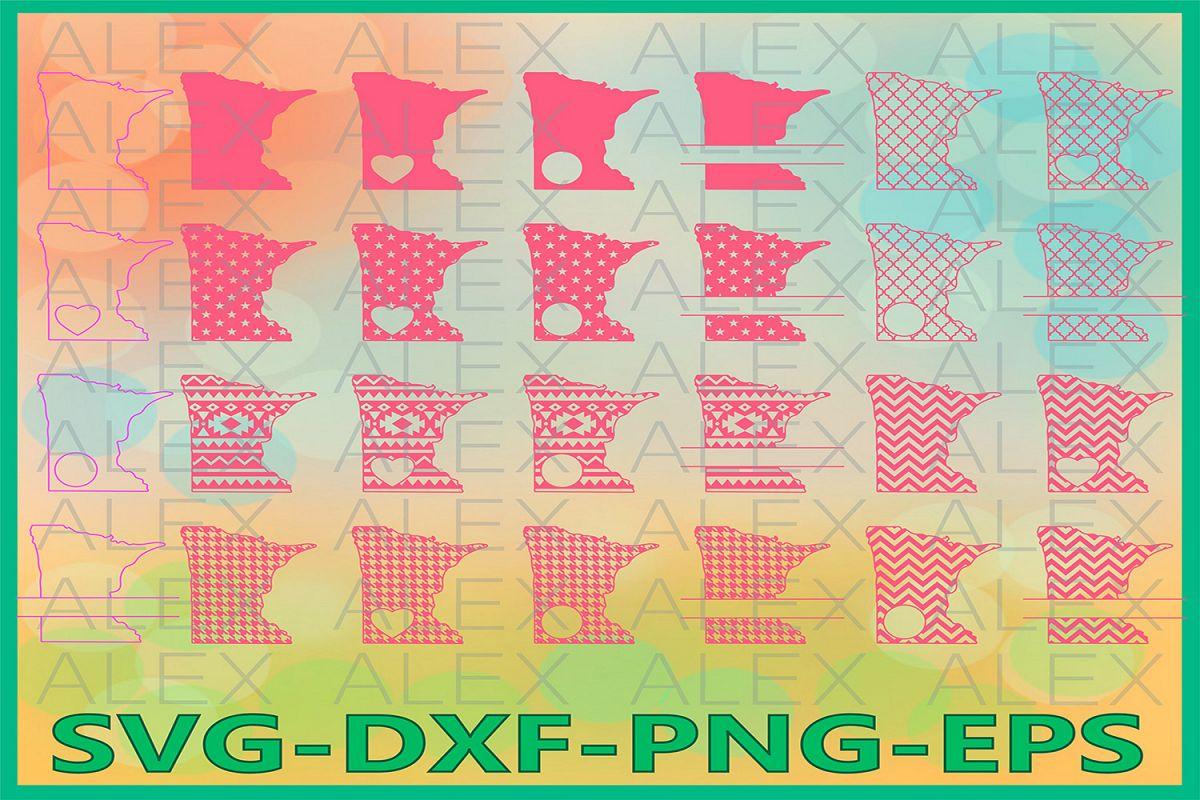 Minnesota State SVG, Minnesota Svg Files example image 1