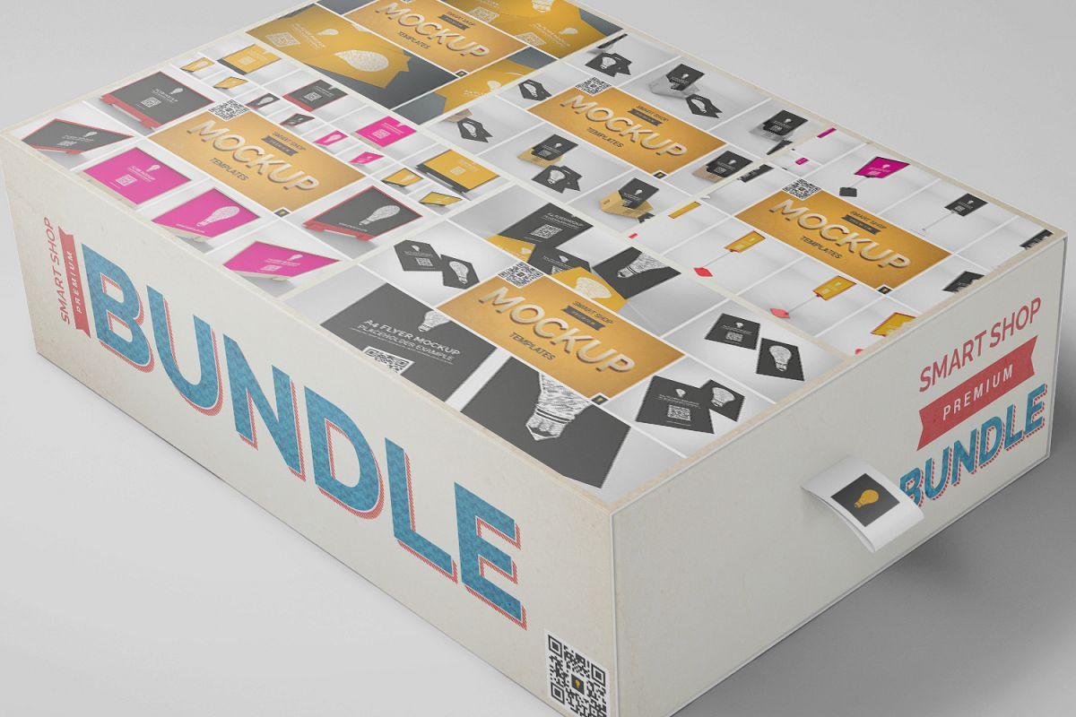 Flyer Mockup Bundle 50% SAVINGS example image 1