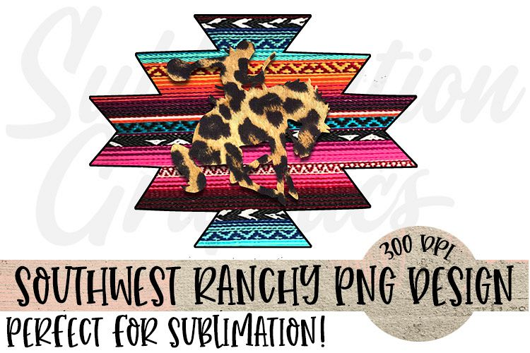 Southwest Ranchy Sublimation Digital Download example image 1