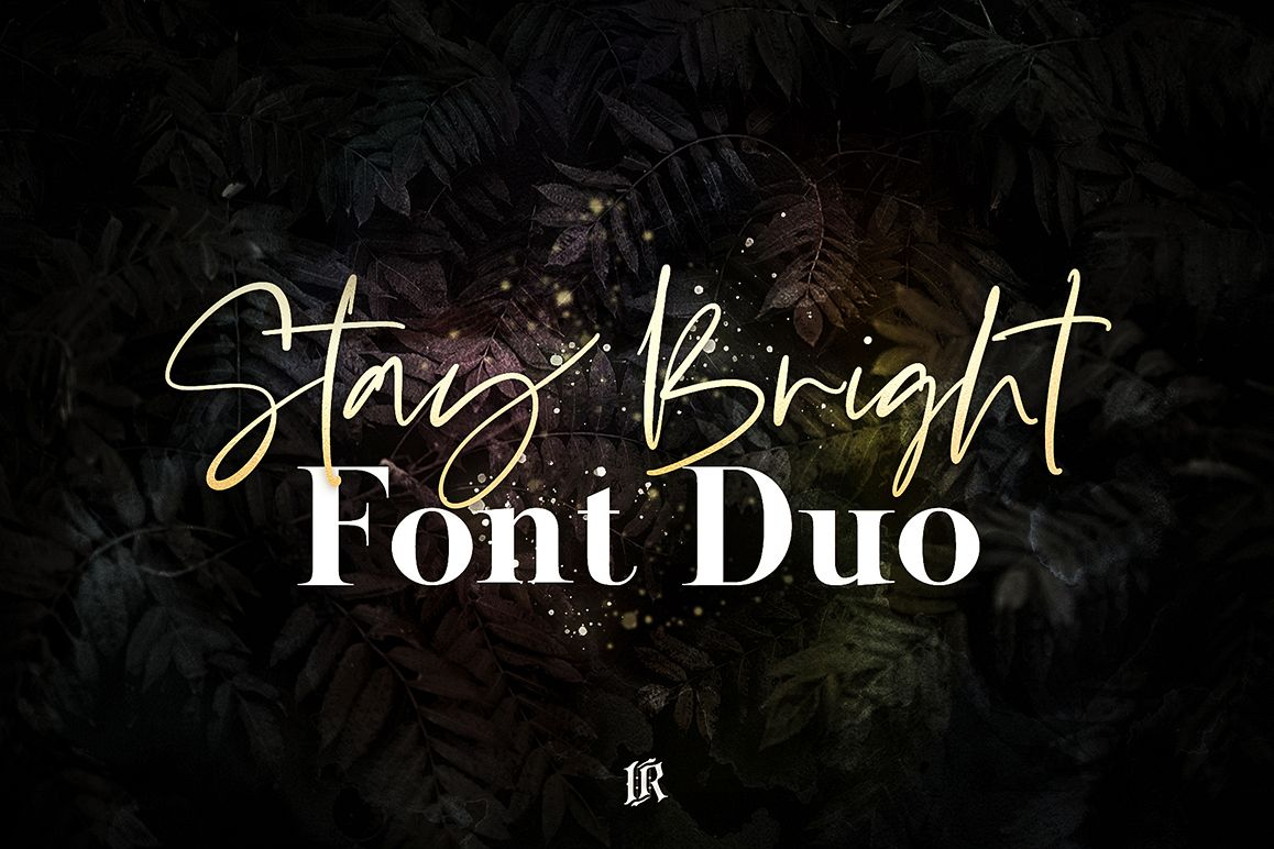 Stay Bright Font Duo example image 1
