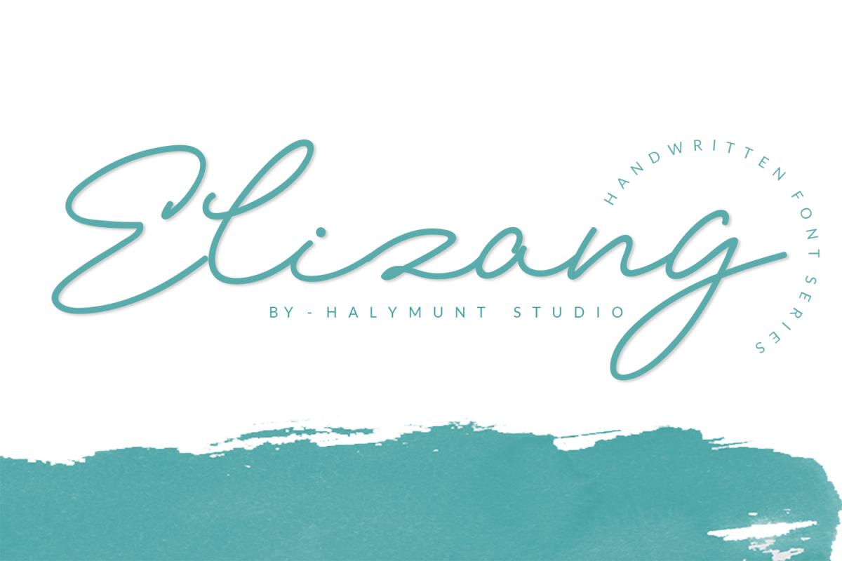Elizany Handwritten Font example image 1