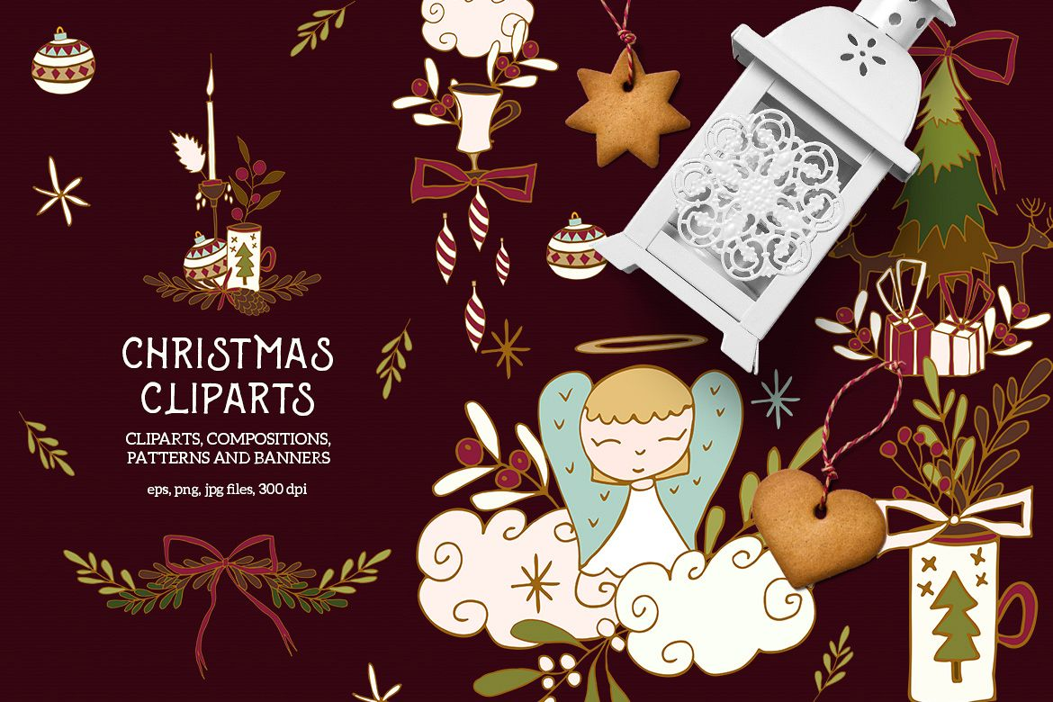 Christmas Cliparts example image 1