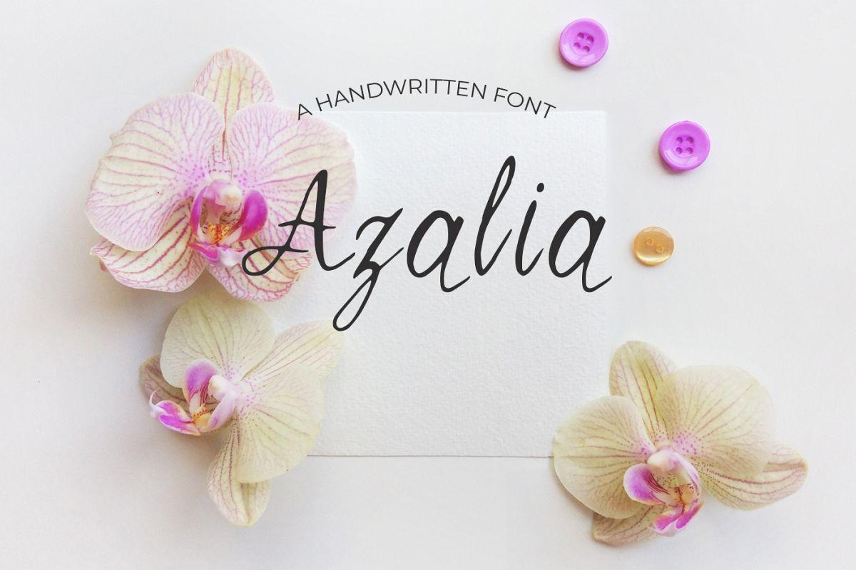 Azalia Font example image 1