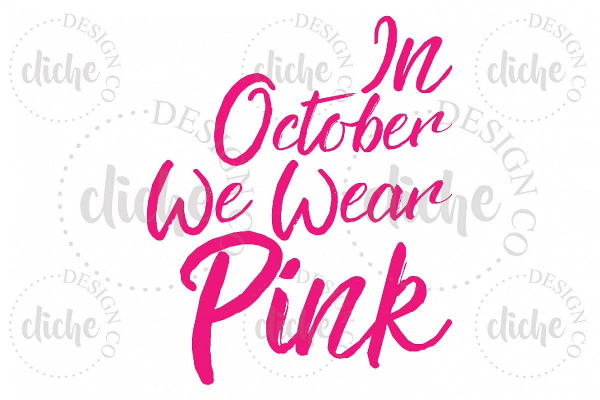 Breast Cancer Awareness Sublimation Design example image 1