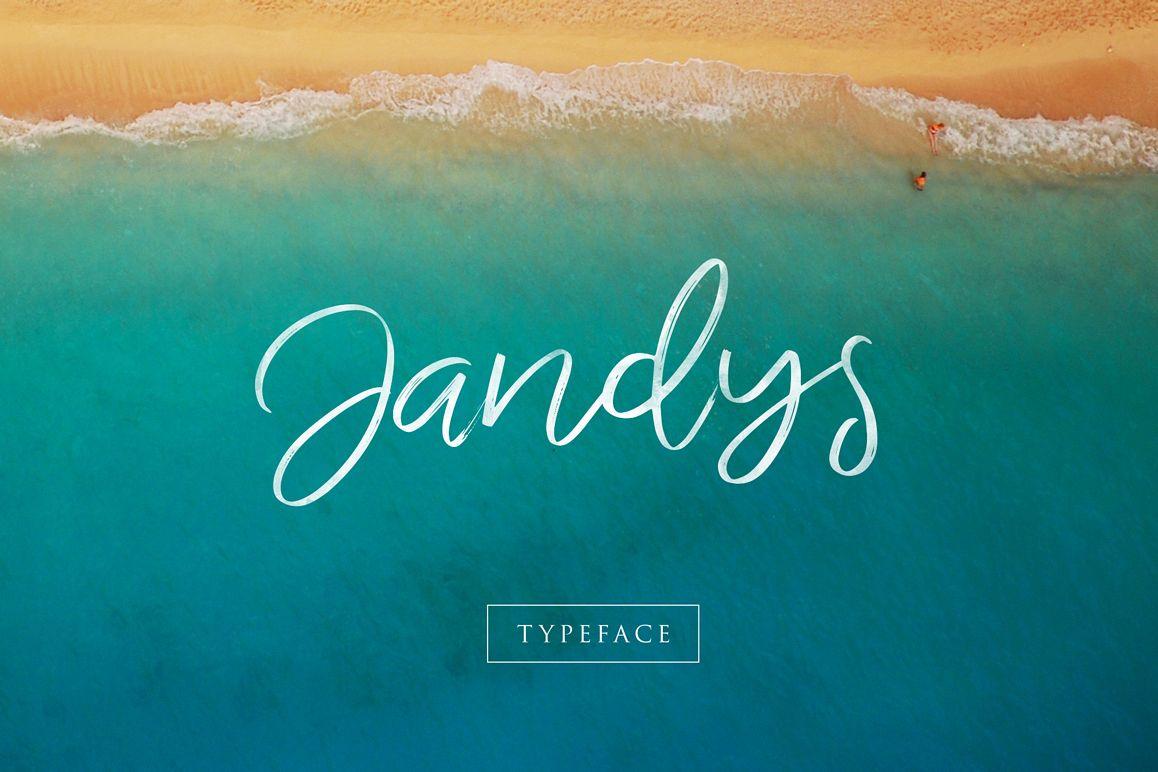 Jandys Typeface example image 1