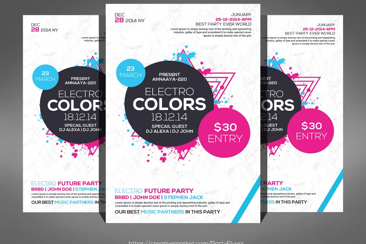 Music Event Flyer example image 1