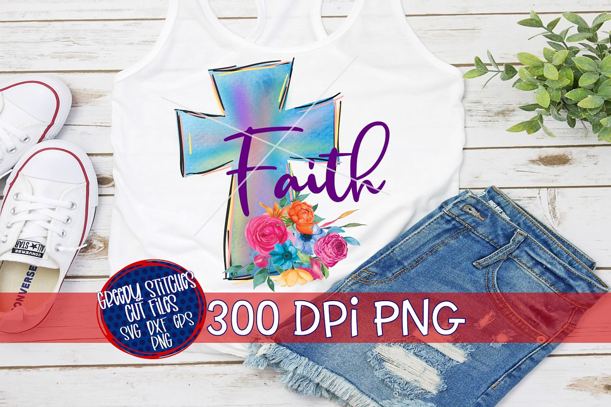 Easter PNG | Faith PNG For Sublimation example image 1