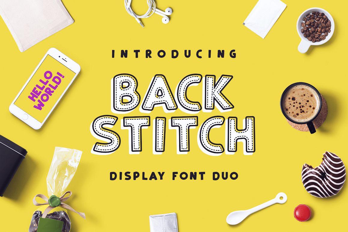 Back Stitch example image