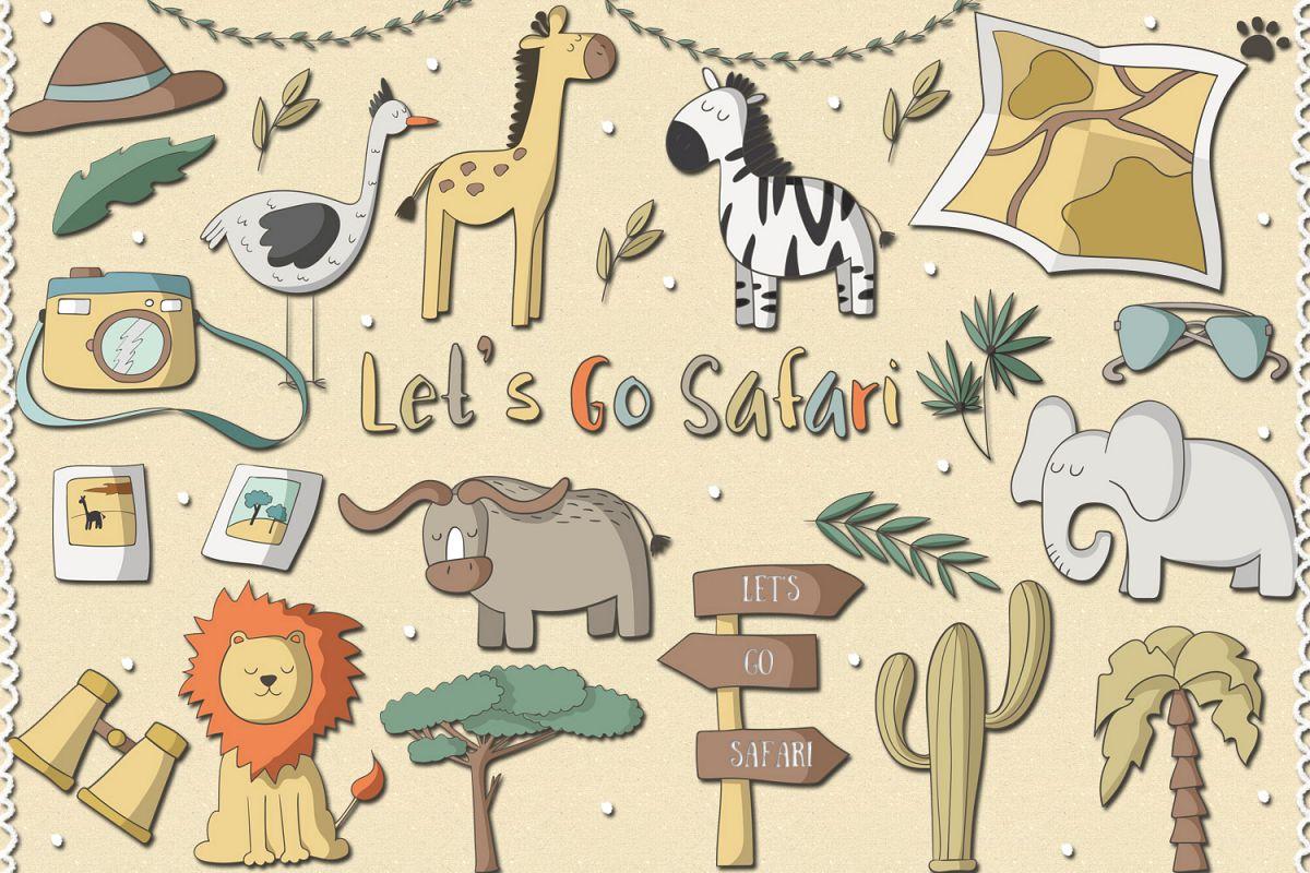 Lets Go Safari example image 1