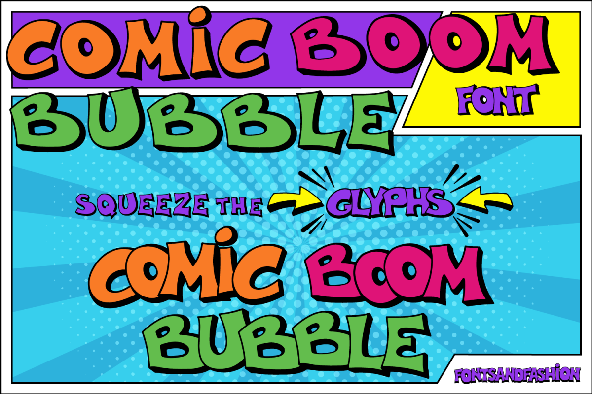Comic Boom Bubble example image 1